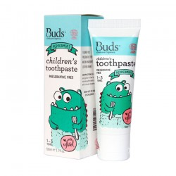 Buds Oralcare Organics Children\s Toothpaste with Xylitol 50ml - Peppermint