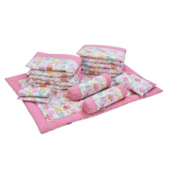 Babylove 7 in 1 Bedding Set (Secret Garden)