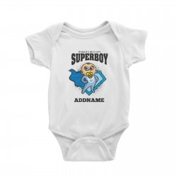 Babywears.my Best Son Superboy Baby T-Shirt Personalizable Designs Matching Family Superhero Family Edition Superhero