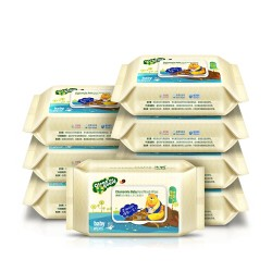 Clean The Guard Chamomile Baby Hand and Mouth Wipes 80pcs x 8