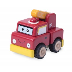 Wonder World Build A Fire Engine