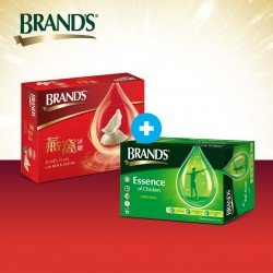 BRAND'S Immunity & Skin Health (1x BBN RS) + Pregnancy Essential Milk Quality Booster 1 (BEC 6's)