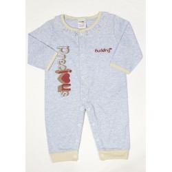 Budding Baby Anti-Mosquito Apparel Jumper Girl - Blue