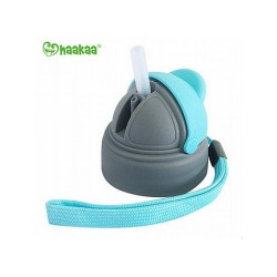 Haakaa Wide Neck Haakaa Baby Bottle Straw Cap - Including Handle