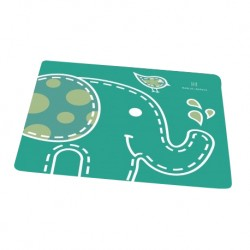Marcus & Marcus Silicone Placemat (Green Ollie)
