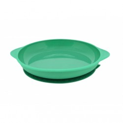 Marcus & Marcus Silicone Suction Plate (Green Ollie)