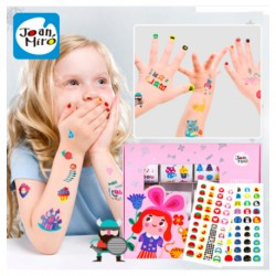 Joan Miro Tattoo & Nail Stickers for Girls