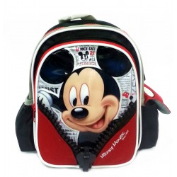 Disney Mickey Mouse & Friends Zips 10 Inch Kids Backpack
