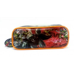 Ninja Turtles Square Transparent Pencil Bag Set