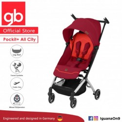 [Official Store] 2019 gb Pockit Plus ALL CITY - World Lightweight Cabin Size Stroller with Reclining Seat