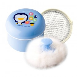 PUKU Baby Powder Box Case Container with Powder Puff P16301-299
