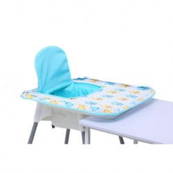 Poppy Seat High Chair Cover (Blue Owl)