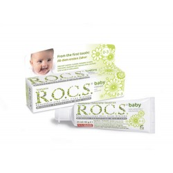 ROCS Baby (Camomile) Toothpaste for 0-3 years old 45g
