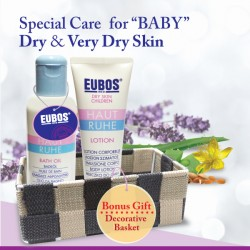 EUBOS Special Care For Baby Dry & Very Dry Skin (2 Items) Bath Pack