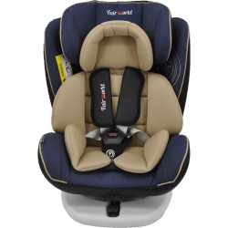 Fair World Rotating with Isofix Baby Car Seat (BC 916K/ISO-LB/GR)